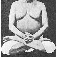 Posición de Loto para Meditación
