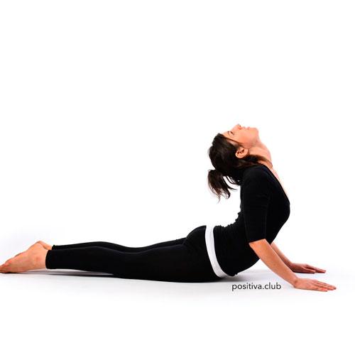 Infertilidad. Yoga para la Fertilidad. Postura de la Cobra